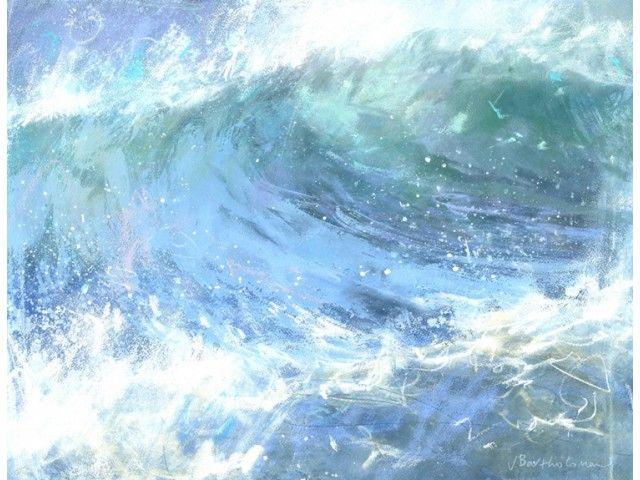 Seascapes James Bartholomew Rsma With Images Surf Painting