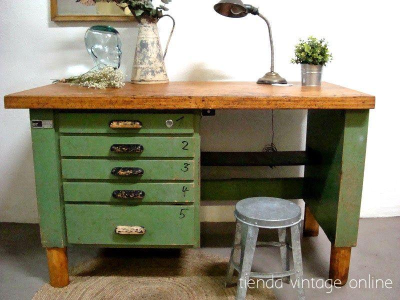 Muebles estilo industrial decor pinterest muebles estilo industrial estilo industrial y - Muebles antiguos valencia ...