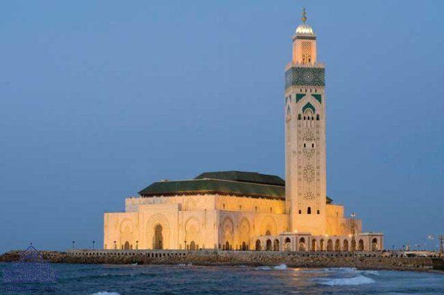 مساجد المملكة المغربية مسجد الحسن الثاني بمدينة الدار البيضاء Leaning Tower Of Pisa Willis Tower Morocco