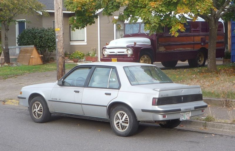 1987 Pontiac Sunbird Pontiac Sunbird Sedan Pontiac