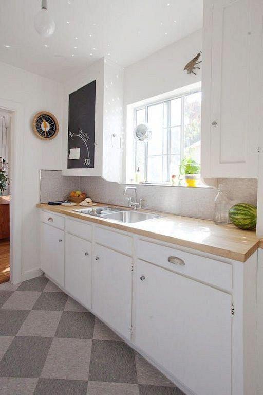 30+ Tiny Kitchen Remodel Ideas On A Budget #kitchenremodelidea