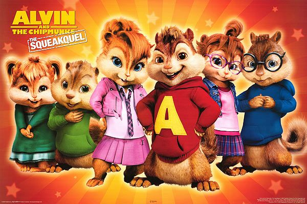 Alvin And The Chipmunks The Squeakquel Alvin And The Chipmunks