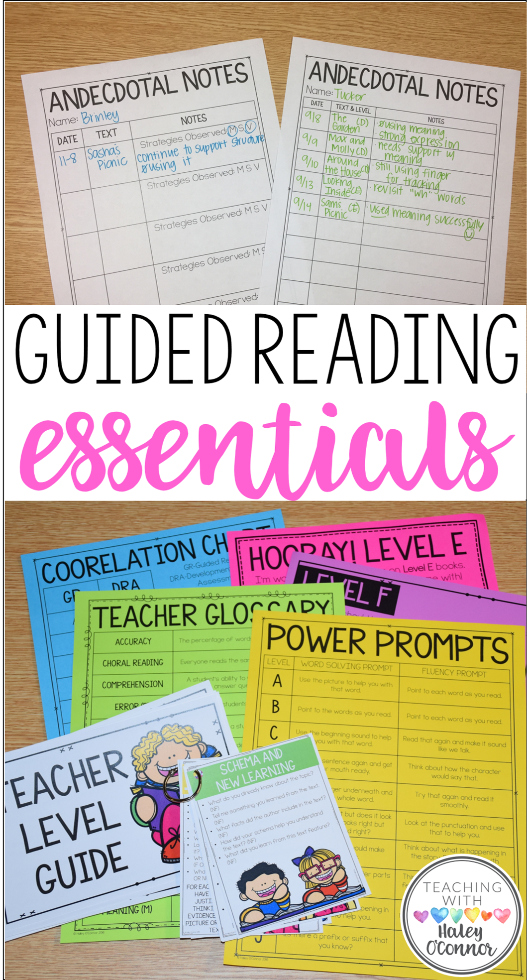 Guided Reading Resources for Teachers