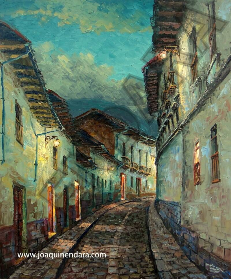 Galeria De Pintura Al Oleo: Cursos De Pintura Al Oleo - Joaquin Endara