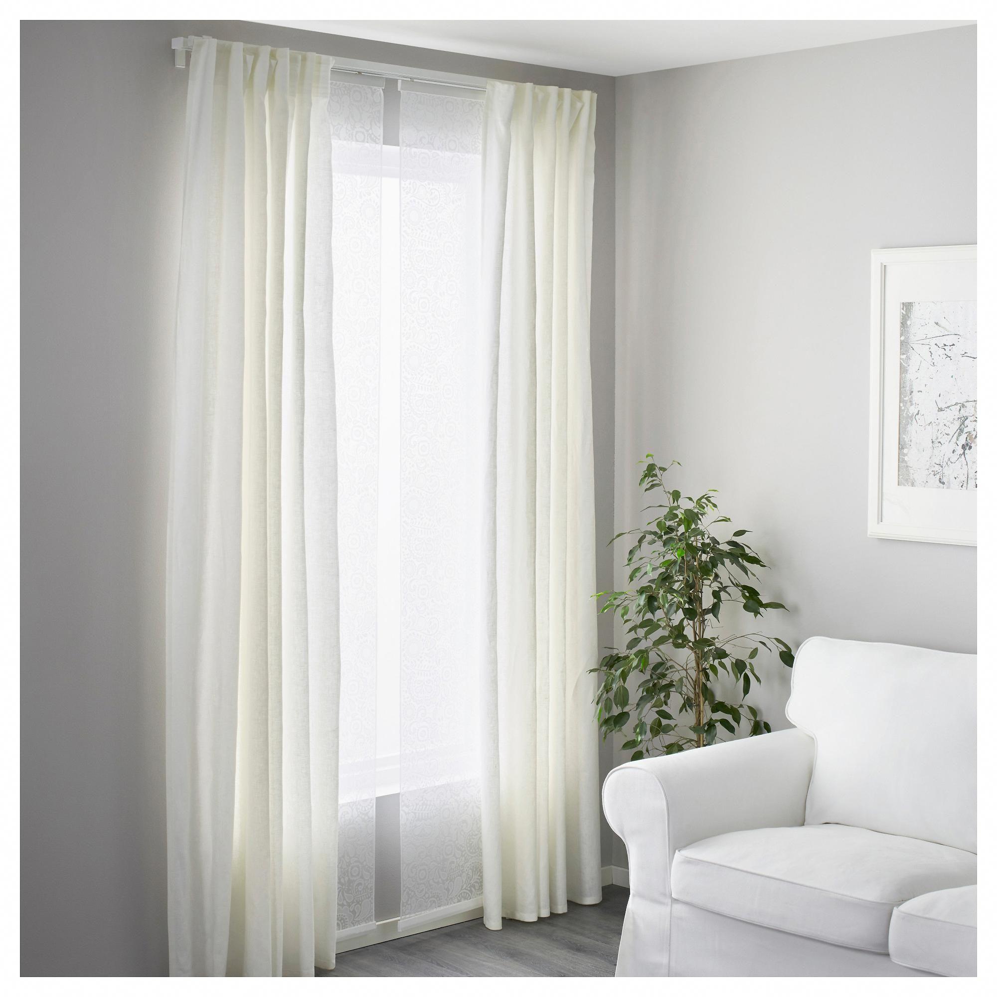 Ikea Vidga Triple Curtain Rail White Staircasedesign Cool