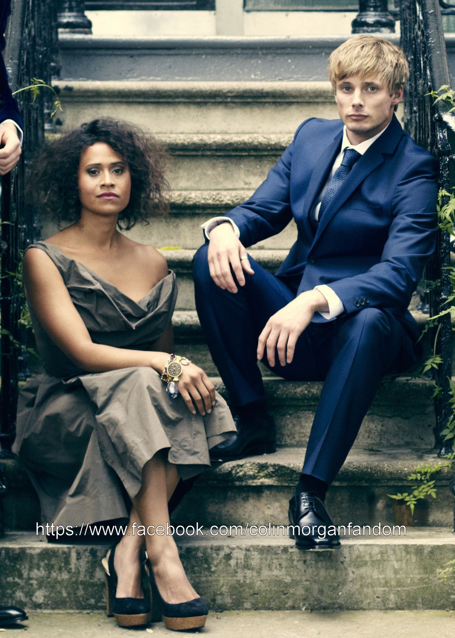 Bradley James & Angel Coulby   Bradley james, Angel coulby