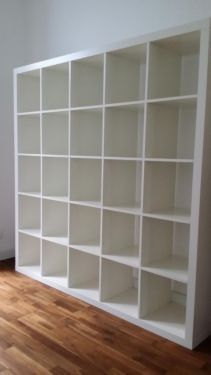 Ikea expedit regal wei 5x5 f cher 185x185 cm in hamburg for Ikea tellerhalter