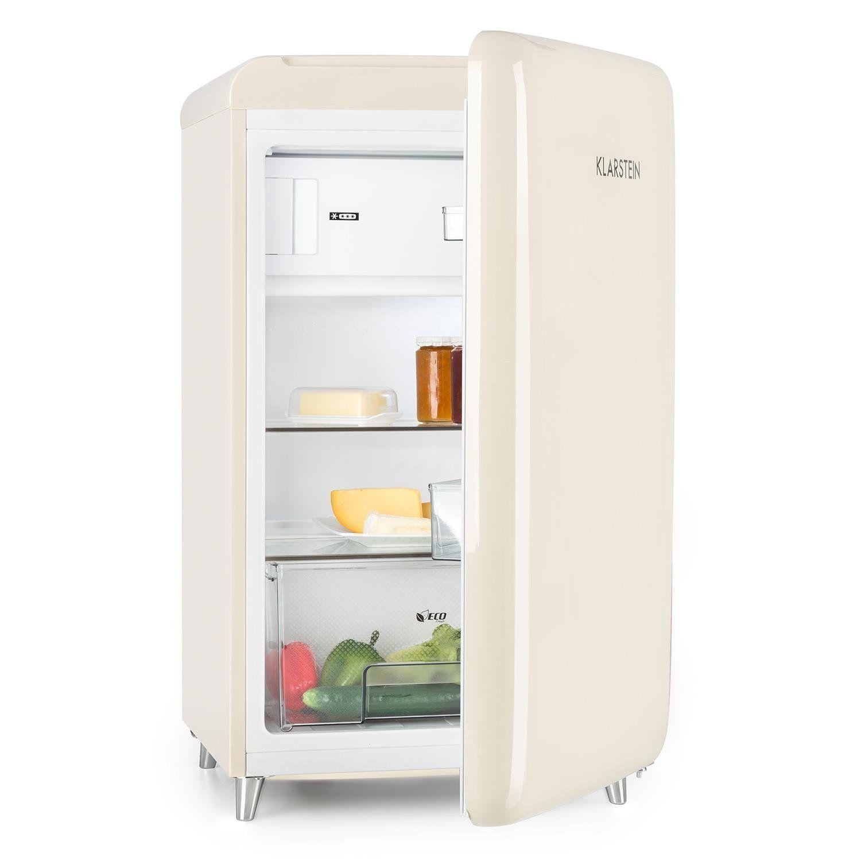 Retro Kühlschrank 50\'s | Klarstein PopArt Cream • Kühlschrank ...