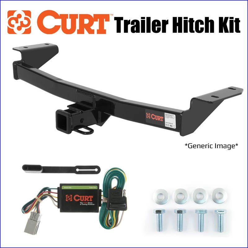 2010-2013 Kia Soul Trailer Hitch Kit Curt 11110 & 56023
