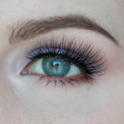 Lavender Eyeshadow with Peach Accents Makeup Tutorial