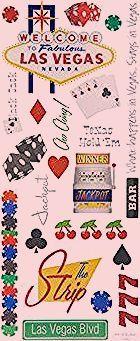 Photo of Las Vegas Vacation Stickers   Hobby Lobby   341495
