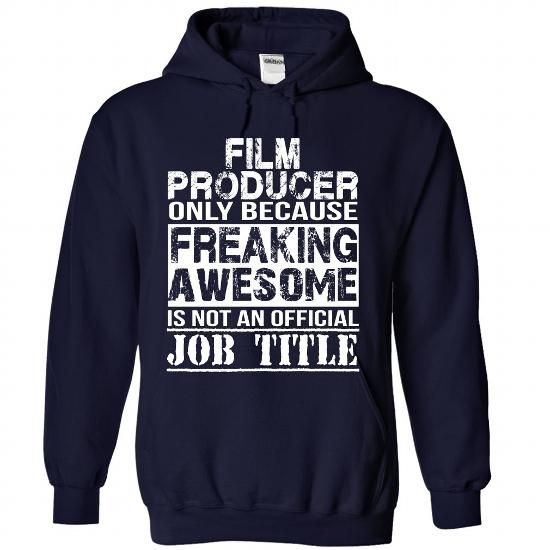 Awesome Tee Film Producer T-Shirts