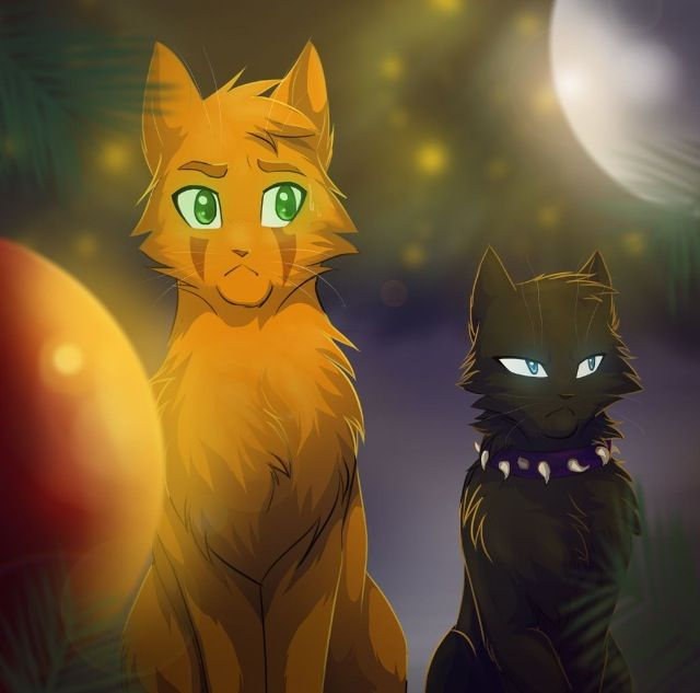 Scourge and Firestar  They're half brothers because both of