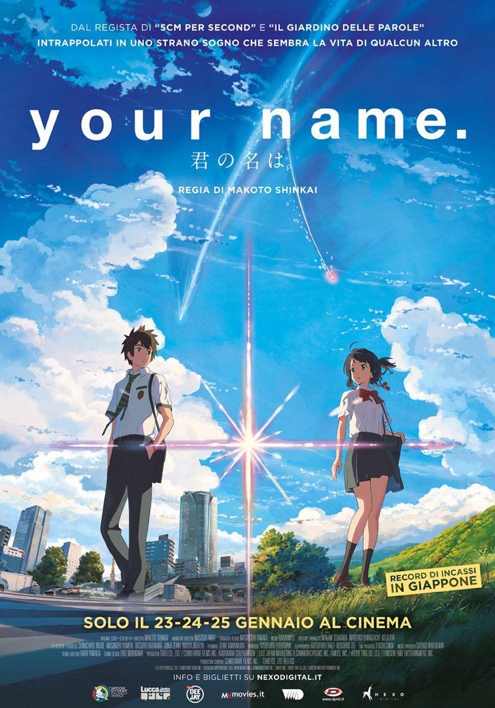 Your Name Streaming Film E Serie Tv In Altadefinizione Hd Kimi No Na Wa Watch Your Name Kimi No Na