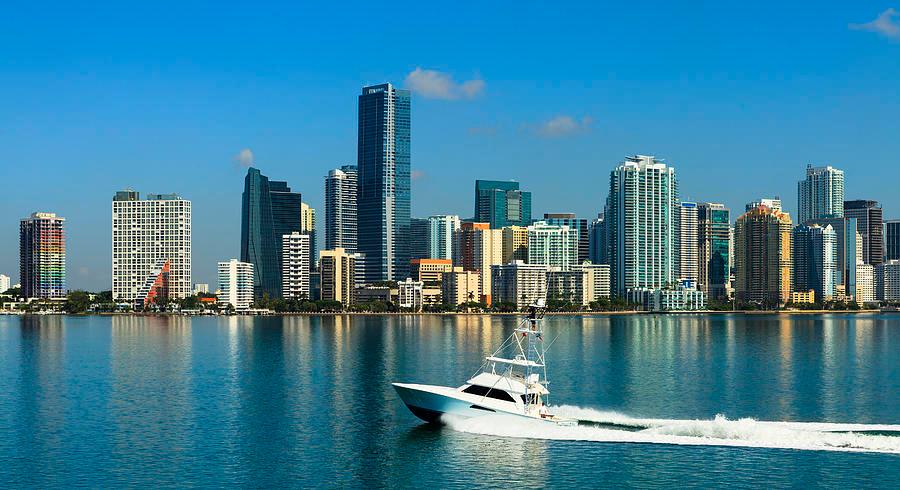 Miami Skyline Google Search Miami Attractions South Beach Miami Miami Images
