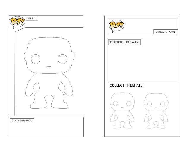 Quinn Rollins: Play Like a Pirate: Action Figure Templates