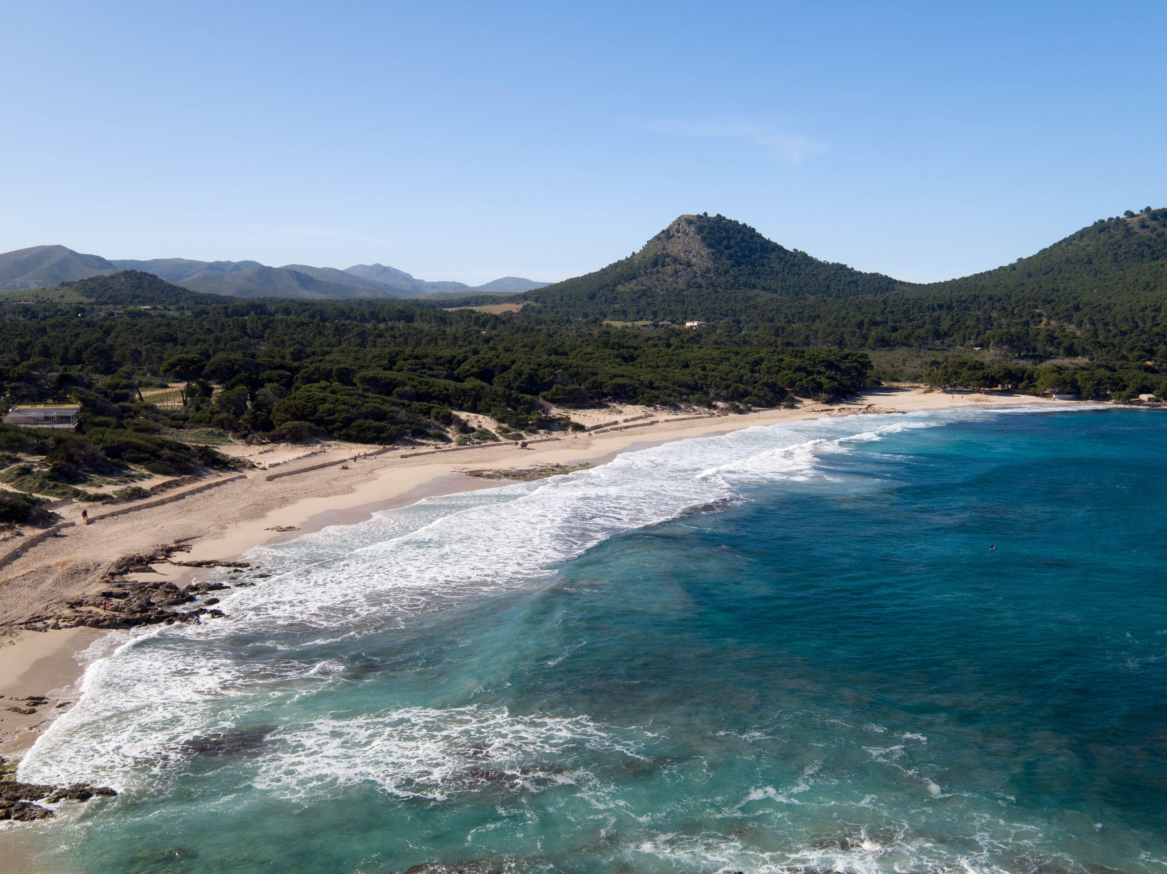 Wunderschoner Strand Im Osten Von Mallorca Cala Guya Oder Cala