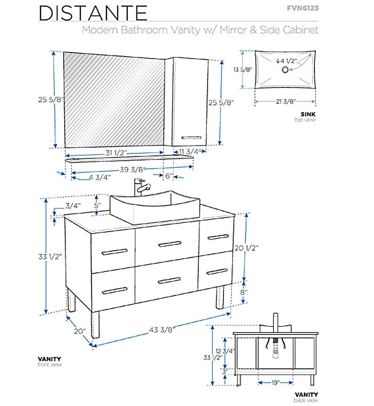 Bathroom Vanity Cabinet Dimensions the most great bathroom sink sizes prev next bathroom sink