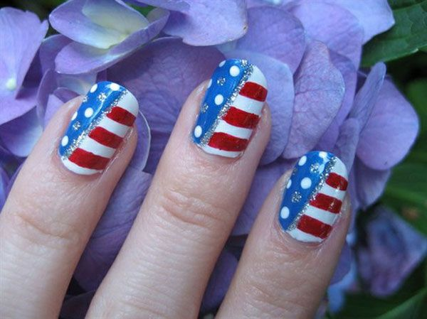 4th Of July Nail Art Designs Supplies Galleries For Beginners 9 Oh