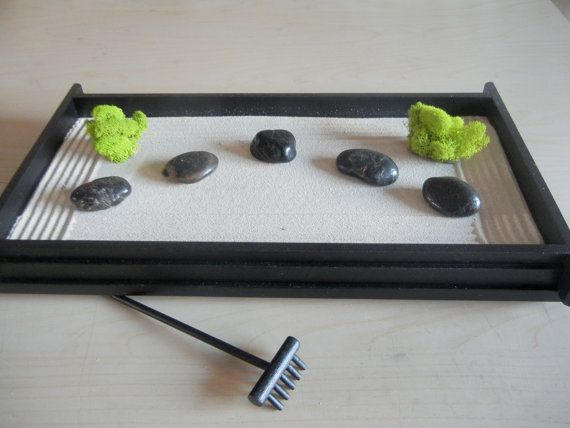 L 01 Large Desk Or Table Top Zen Garden Diy Kit Mini Zen Garden Zen Diy Kits