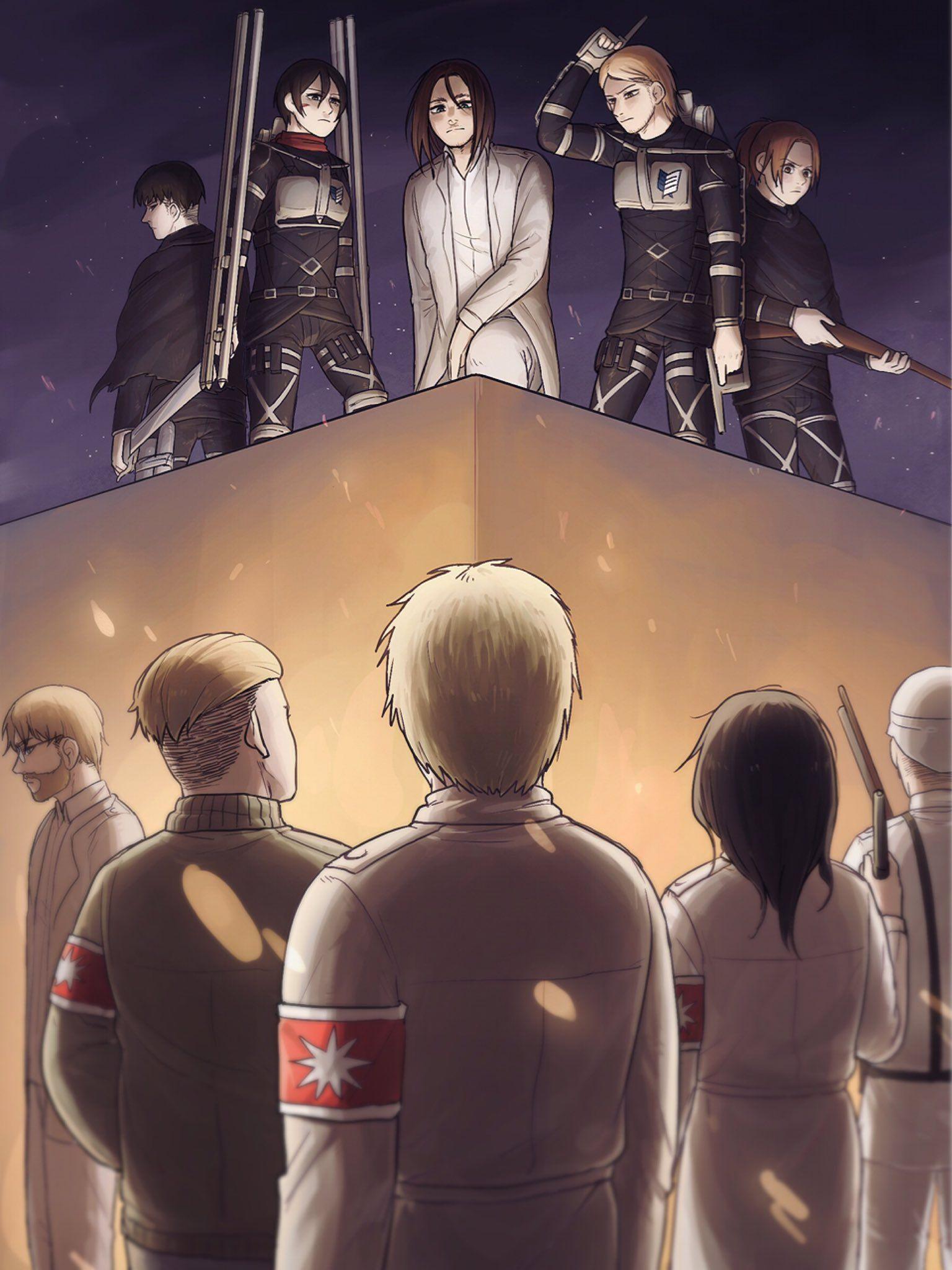 BORA🎆126스포 on Attack on titan anime, Attack on titan