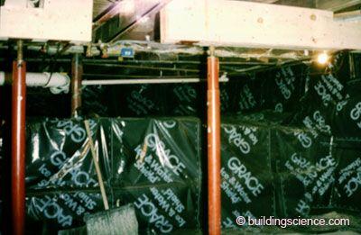 Bsi Rubble Foundations Damp Basement Spray Insulation Polyurethane Foam