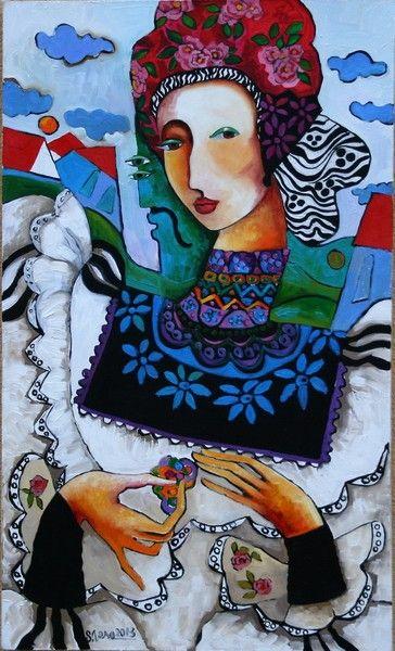 """""""La Blouse Roumaine"""" by Stela Vesa"""