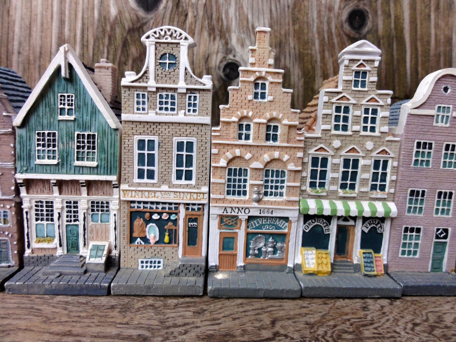 RESERVED FOR SIEW Vintage Miniature Houses, Dutch Doll Houses ...