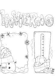 Resultado De Imagen De Invierno Para Colorear Bienvenido Invierno Invierno Actividades De Invierno