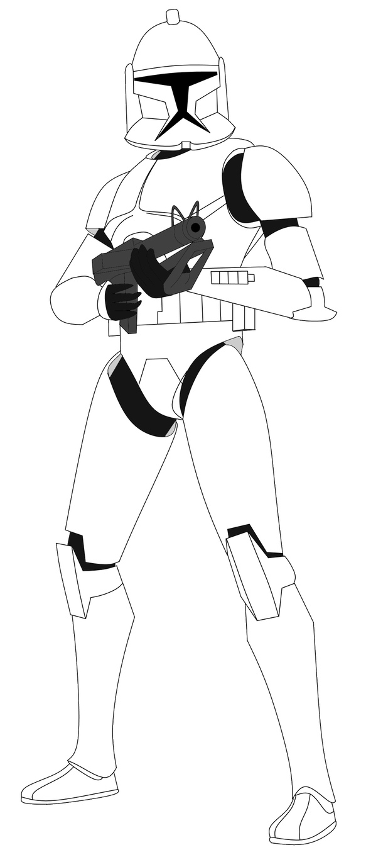 Clone Trooper Star Wars Clone Wars Star Wars Images Star Wars Drawings
