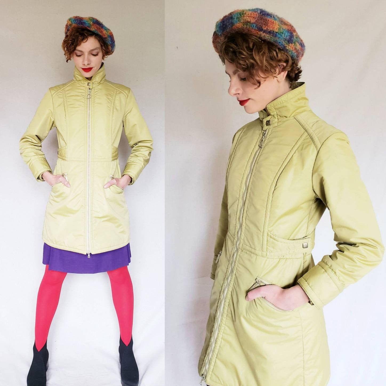1970s Mustard Yellow Winter Jacket HEAD Ski and Sportswear ...
