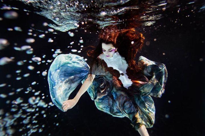 Floating Gracefully Beneath the Water's Surface by Joel Janse Van Vurren