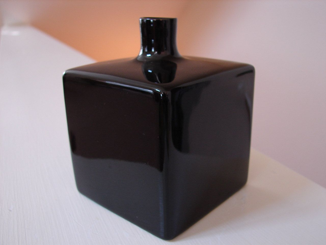 Studio nova black cube art deco style bud vase original box studio nova black cube art deco style bud vase original box reviewsmspy