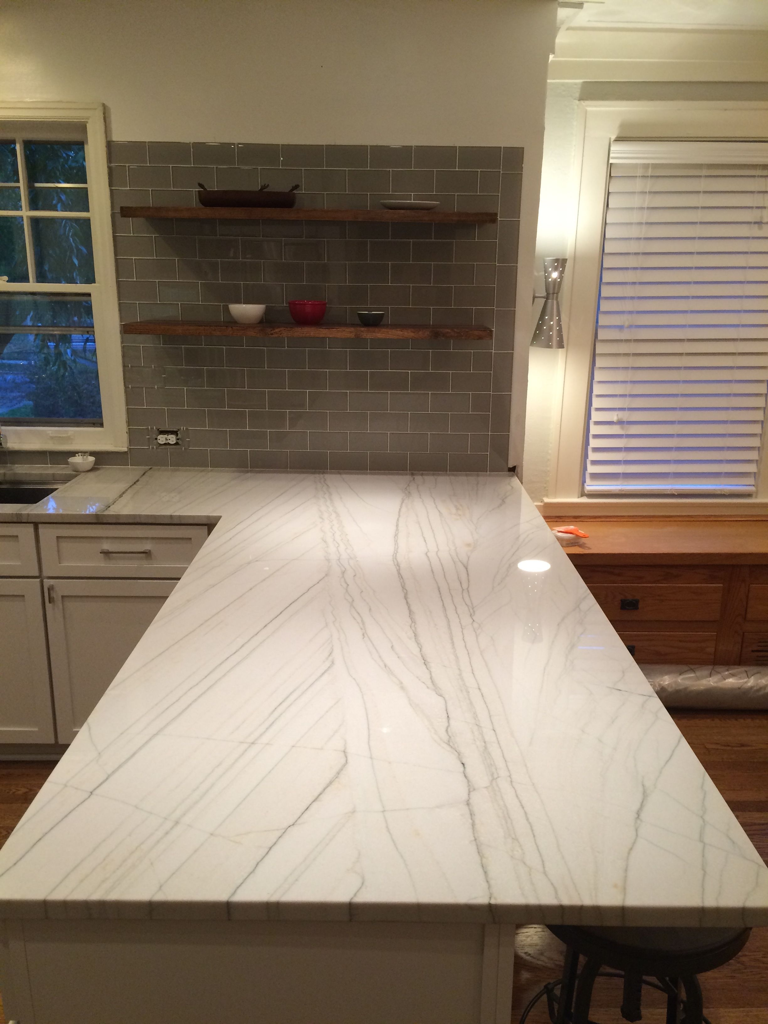 My Counter Tops. White Macaubas Quartzite Is A Naturally Occurring (aka Not Man  Made At All) Stone That Closely Resembles Marble But Has The Durability Of  ...