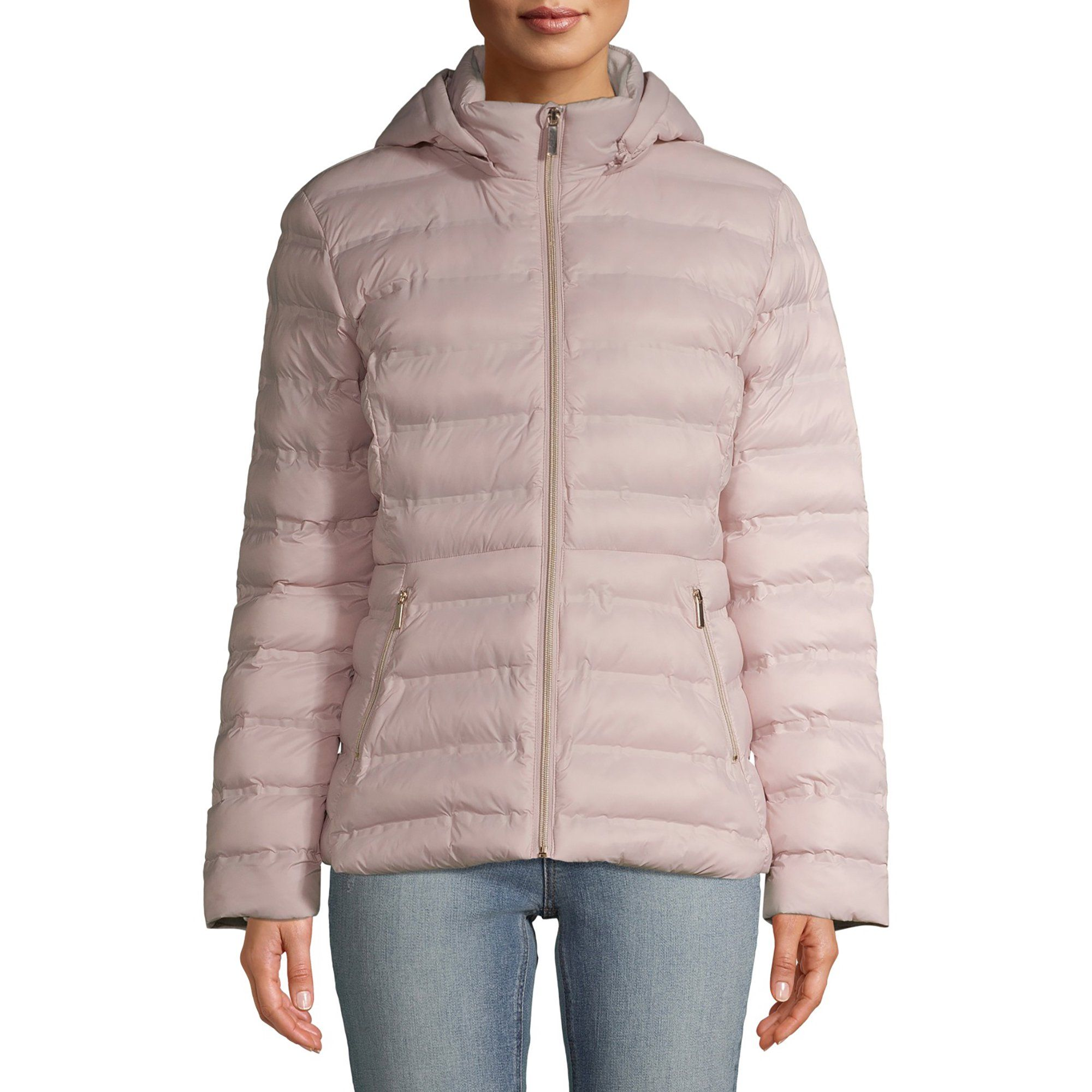 Time And Tru Time And Tru Women S Packable Puffer Jacket With Hood Walmart Com Puffer Jackets Hooded Jacket Jackets [ 2000 x 2000 Pixel ]