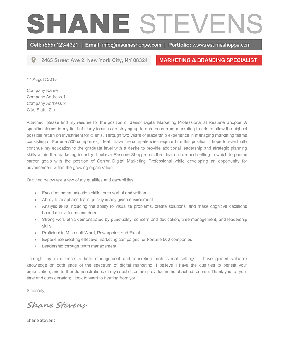 cover letter template creative 2 cover letter template sample