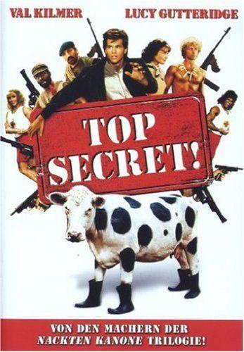 34 Top Secret 1984 Carteles De Películas Peliculas Val Kilmer
