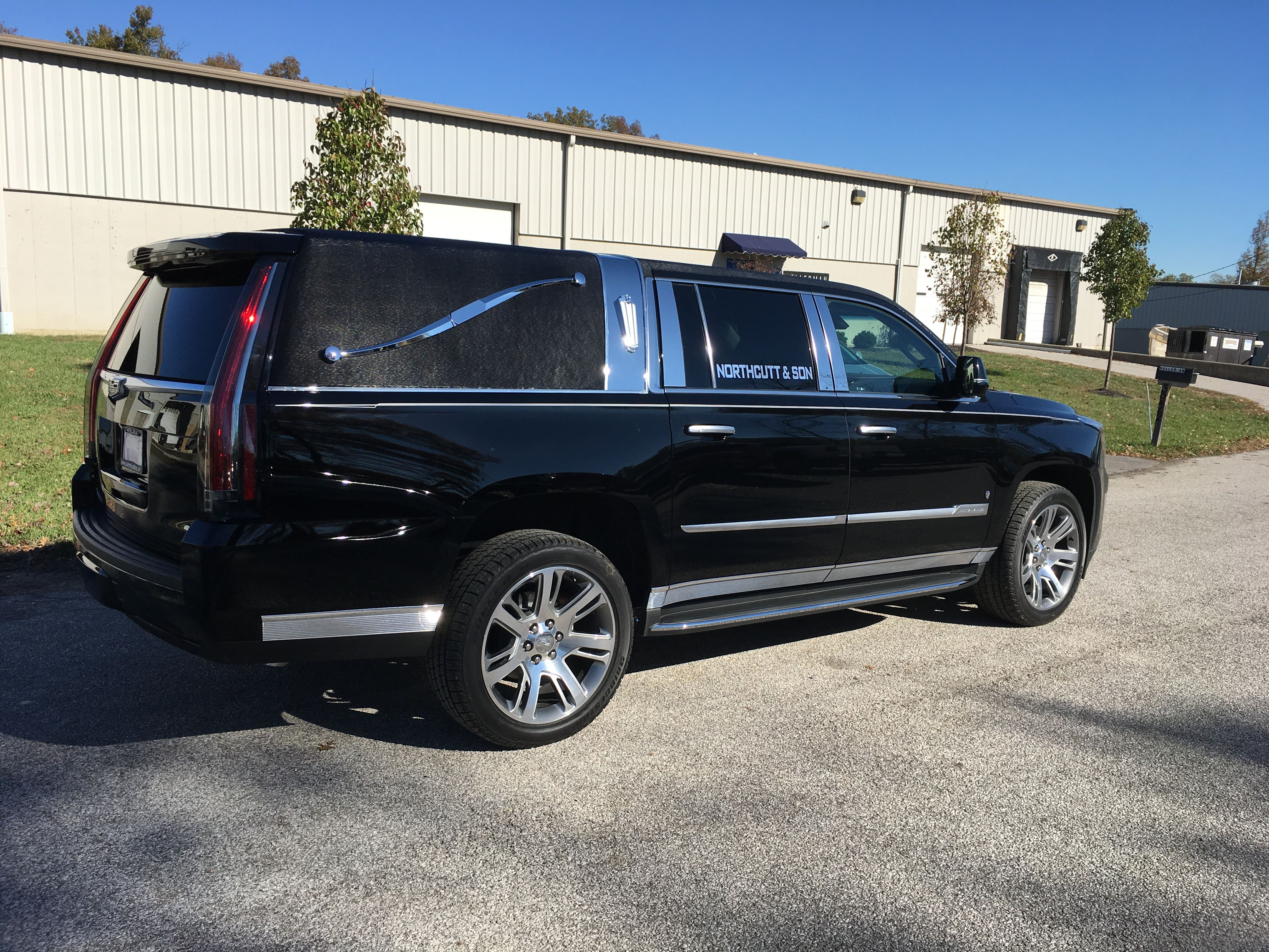 K2 vehicles cadillac escalade hearse