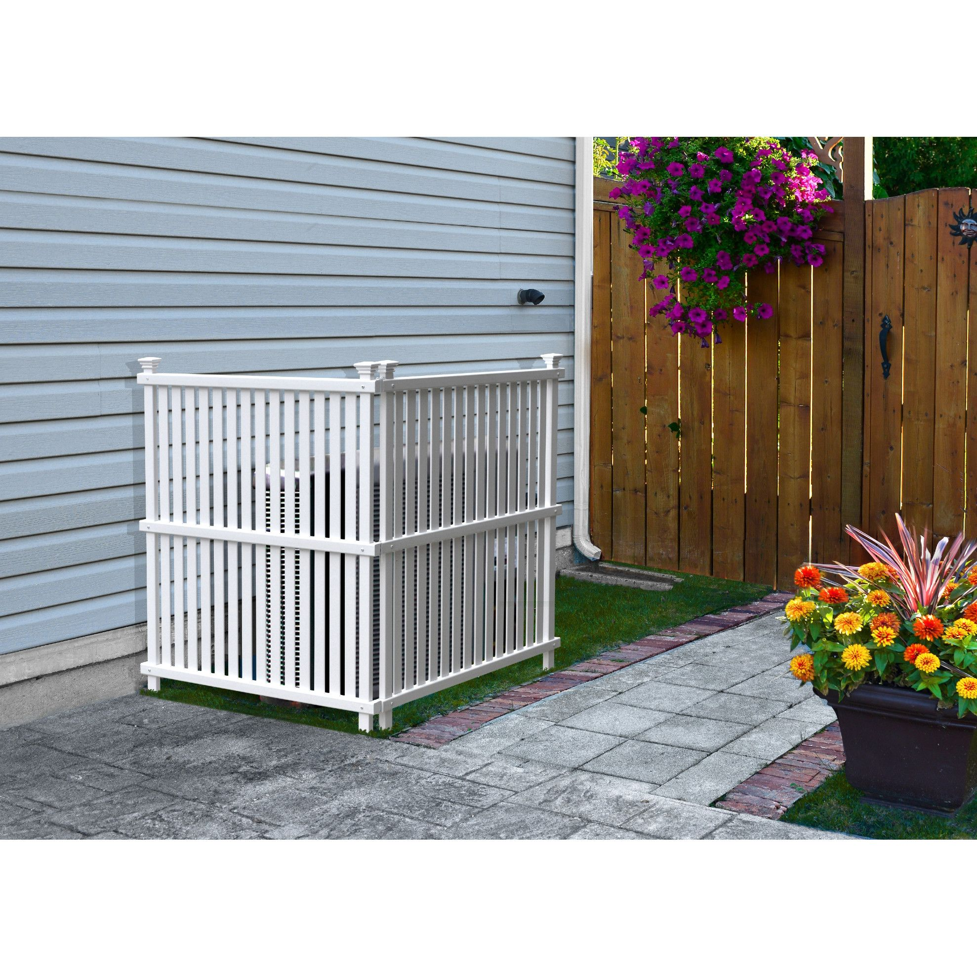 4 ft. H x 3 ft. W Wilmington Privacy Screen Outdoor