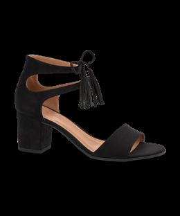 63862d593cd B&CO damesandal sort | Ny stil | Shoes, Heeled mules og Sandals