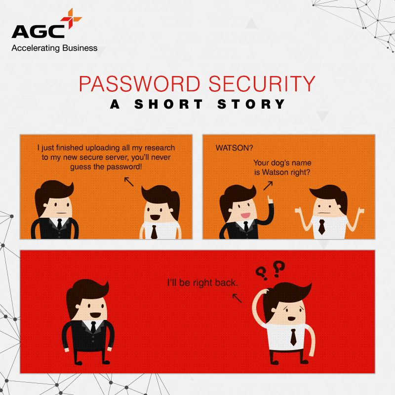 #Tip: Try to make your password more strong and unique!  #TechTip #AGCNetworks