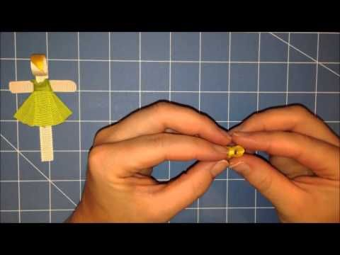 Tinkerbell Sculpted Hair Bow Tutorial - Video Instructions - YouTube