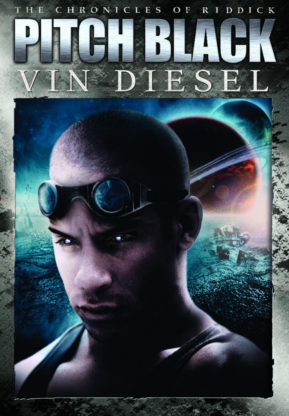 Riddick is an interesting character even if the story as a whole spaceship crash lands on a deserted planet filled with creatures which slowly kill