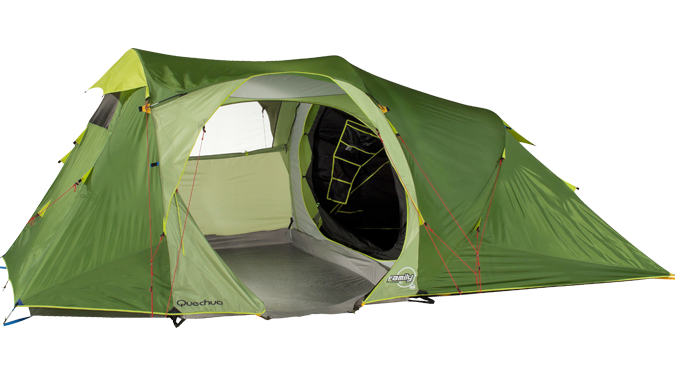 Family C&ing Decathlon  Quechua Family 4.1  pop-up 4 man tent.  sc 1 st  Pinterest : decathlon quechua tent - memphite.com