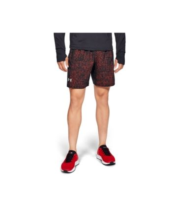 f2f6611eb48 Under Armour Men's Launch Stretch Woven 7'' Print Short - Black 3XL