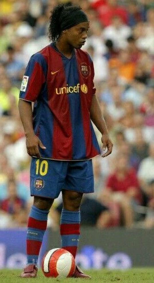 Ronaldo de Assis Moreira commonly known as Ronaldinho or