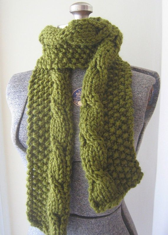 seed stitch/cable stitch- may make this this winter... | Knit One ...