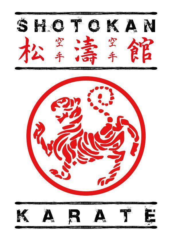 Karate Symbol : karate, symbol, Shotokan, Karate, Symbol, Kanji, Gallery, Quality, Print, Thick, Shotokan,, Karate,
