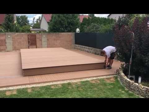 Begehbare Poolabdeckung 8 0m X 4 5 M Youtube Pool Cover Pool Deck