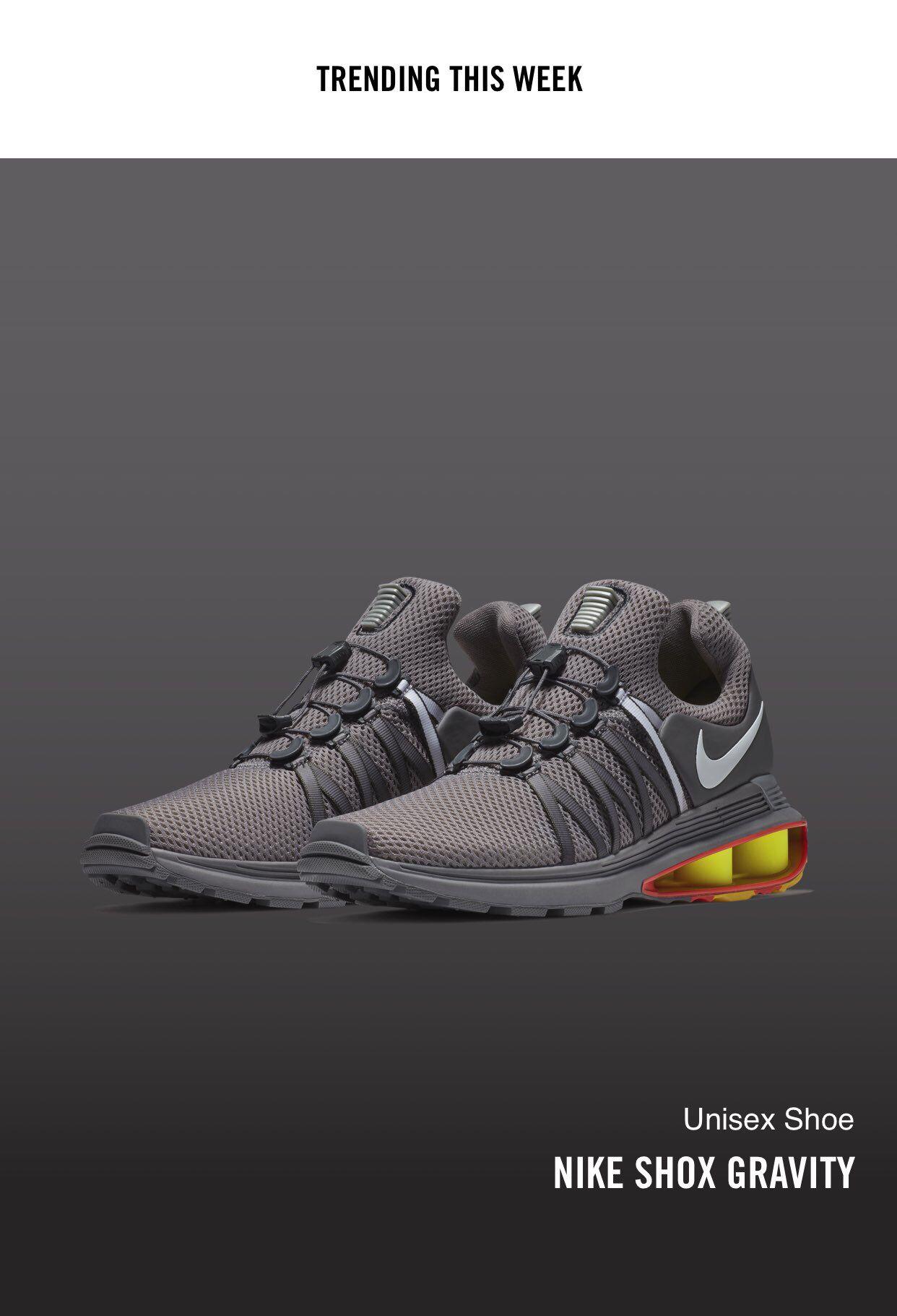 save off 21918 9c680 Nike Shox Gravity